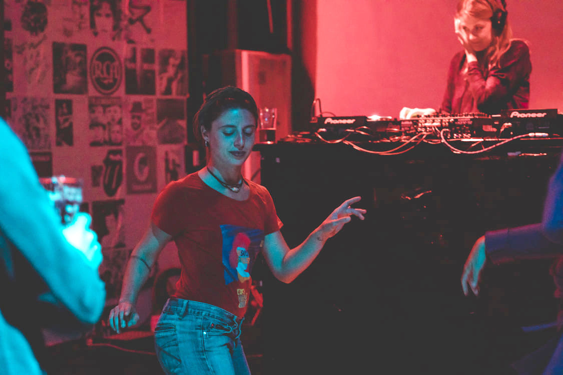 Evento dj-set al party di chiusura