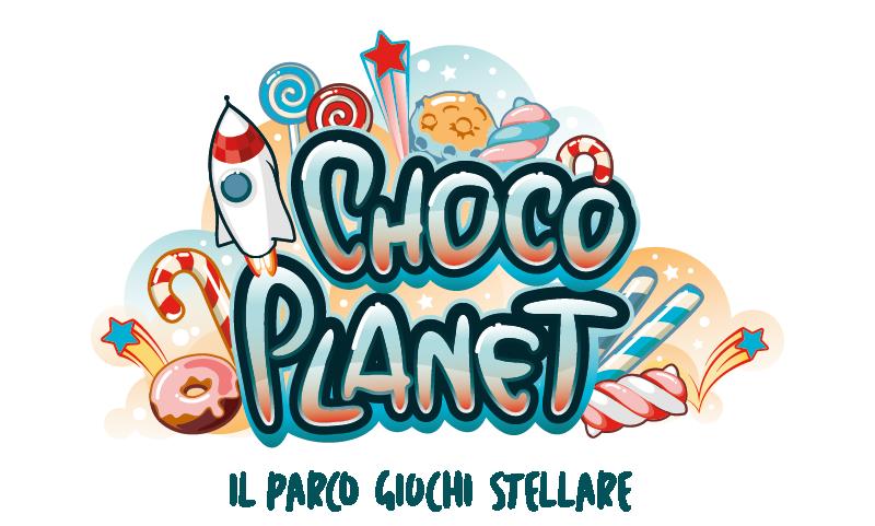 Logo Choco Planet, versione principale