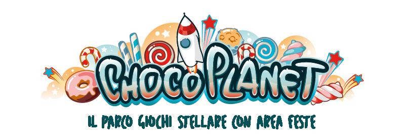 Versione secondaria del logo Choco Planet