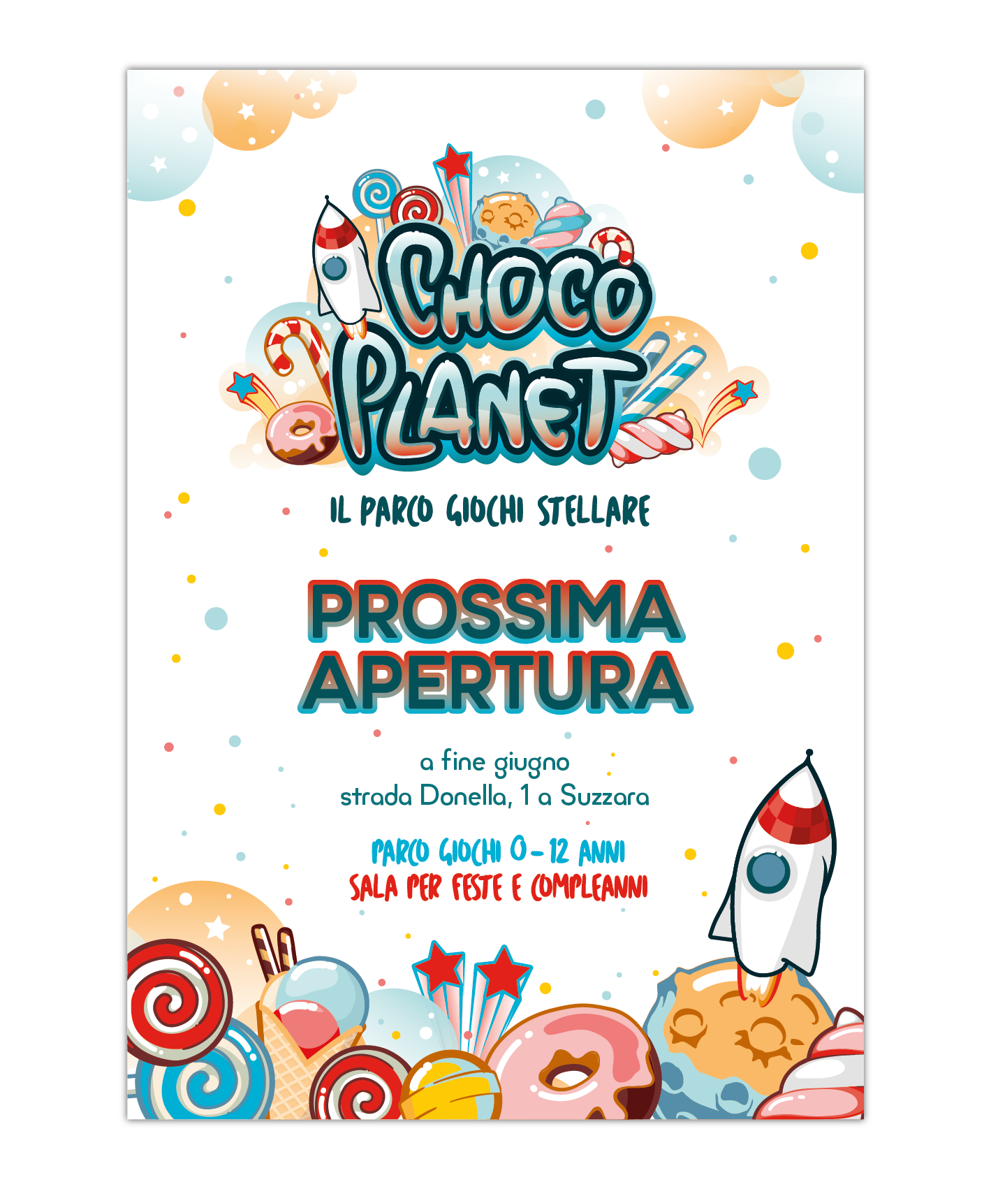 Poster Choco Planet