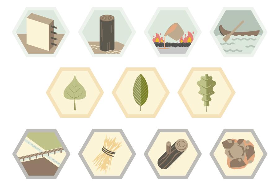 Set iconografico coordinato