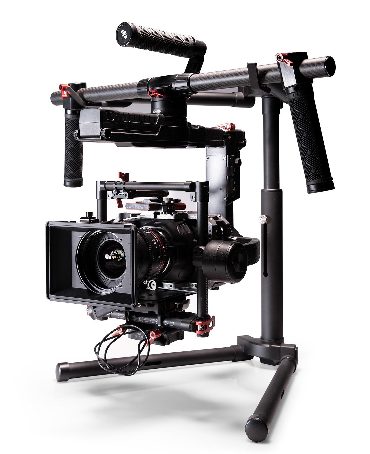La steadycam utilizzata per le riprese video