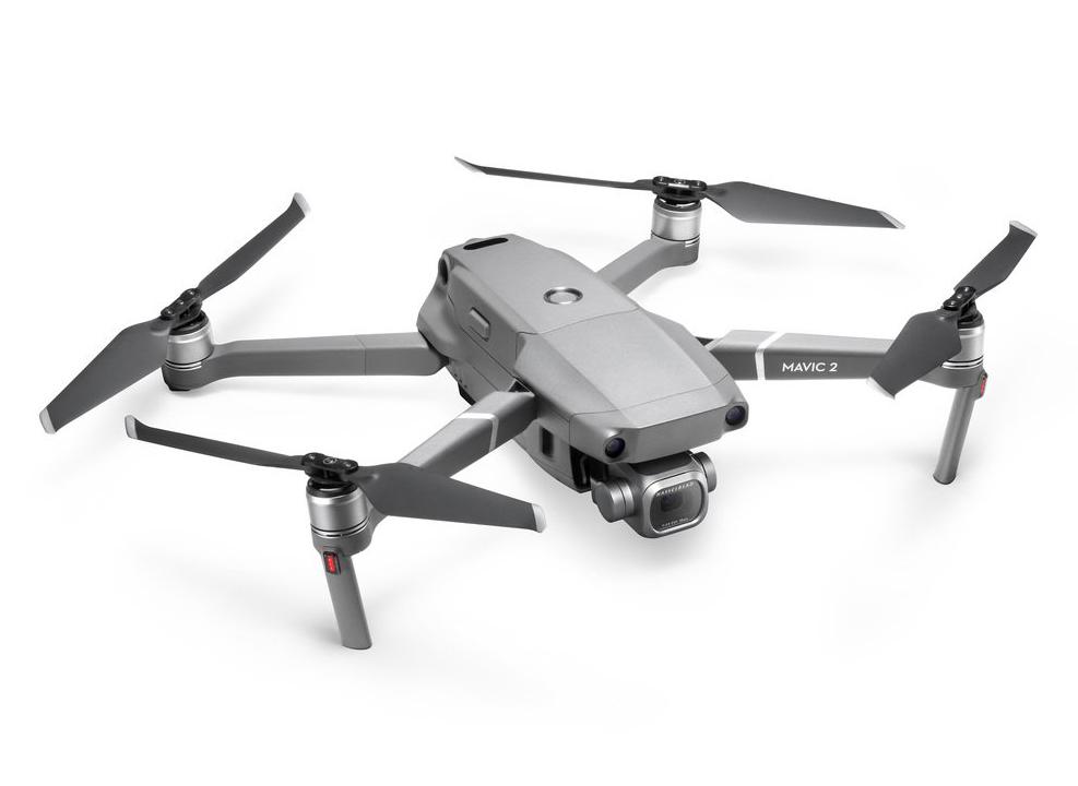 Il drone Mavic 2 utilizzato per le riprese aeree